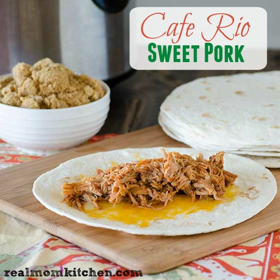 Cafe Rio Pork   realmomkitchen.com