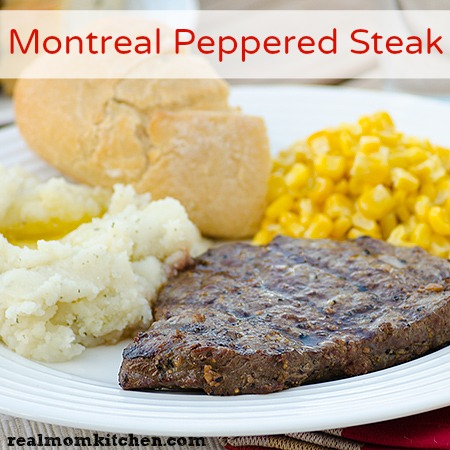 Montreal Peppered Steak