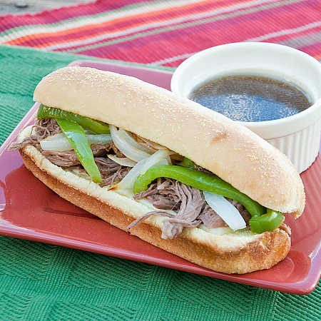 Shockingly Simple French Dip Sandwiches