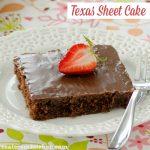 Texas Sheet Cake | realmomkitchen.com