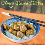 Honey Glazed Chicken   realmomkitchen.com