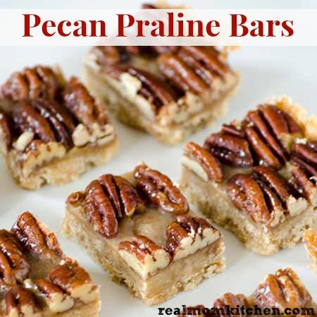 Pecan Praline Bars