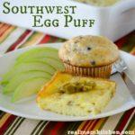 Southwest Egg Puff | realmomkitchen.com