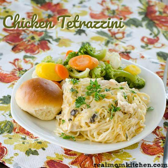 Chicken Tetrazzini   realmomkitchen.com
