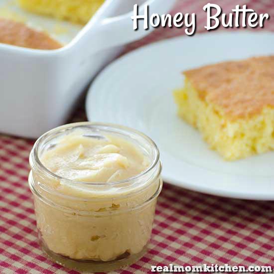 Honey Butter | realmomkitchen.com