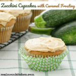 Zucchini Cupcakes With Caramel Frosting | realmomkitchen.com