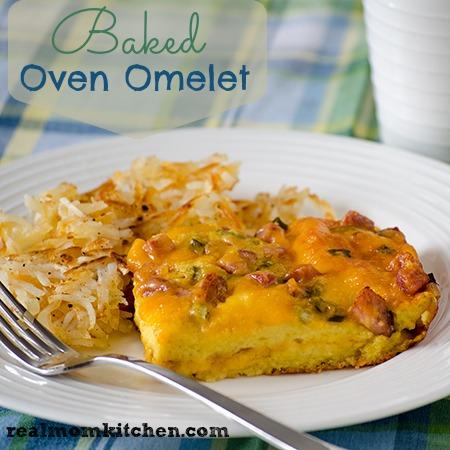 Baked Oven Omelet