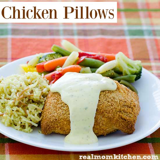 Chicken Pillows | realmomkitchen.com