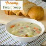 Creamy Potato Soup | realmomkitchen.com