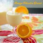 Orange Blender Drink | realmomkitchen.com