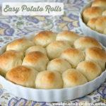 Easy Potato Rolls   realmomkitchen.com
