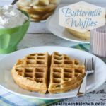 Buttermilk Waffles   realmomkitchen.com