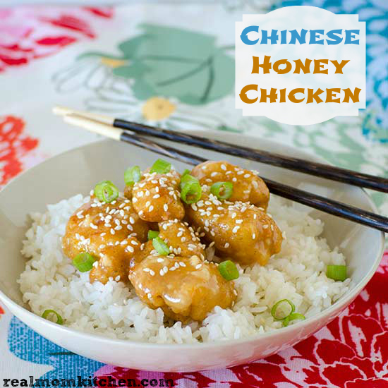 Chinese Honey Chicken Sauce | Real Mom Kitchen