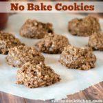 No Bake Cookies   realmomkitchen.com