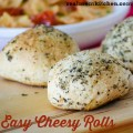 Easy Cheesy Rolls | realmomkitchen.com