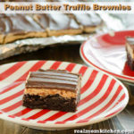 Peanut Butter Truffle Brownies | realmomkitchen.com