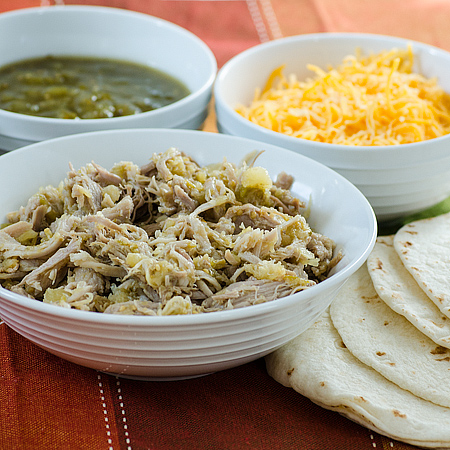 Pineapple and Green Chili Pork Tacos