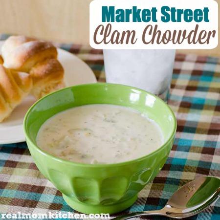 Market Street Clam Chowder   realmomkitchen.com