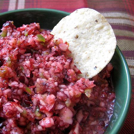 cranberry salsa 3 450