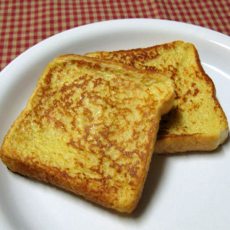 Eggnog French Toast With Eggnog Syrup Real Mom Kitchen
