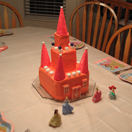 Princess Castle Cake and a giveaway