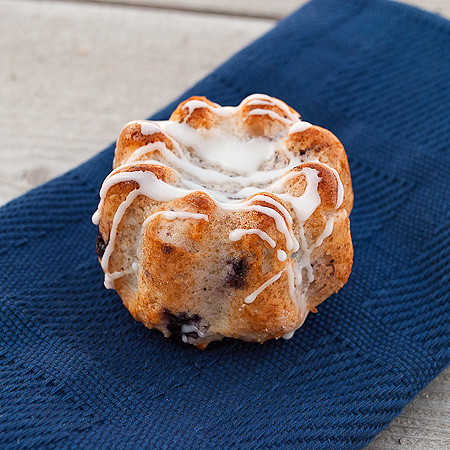 picture of mini blueberry coffee cake