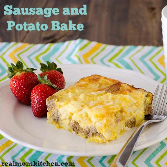 Sausage and Potato Bake | realmomkitchen.com