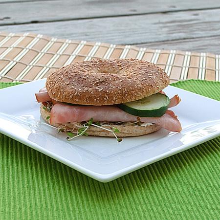Healthy Bagel Sandwiches
