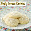Zesty Lemon Cookies | realmomkitchen.com