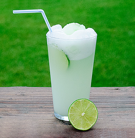 Fresh Lime Sherbet Float | Real Mom Kitchen