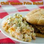 Chili Cheese Frito Salad | realmomkitchen.com
