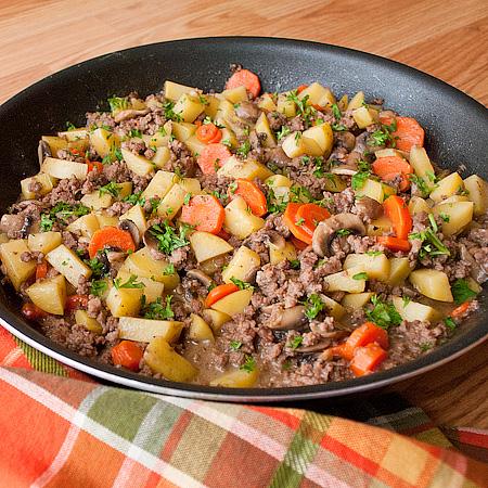 Skillet Ground Beef Stew Real Mom Kitchen