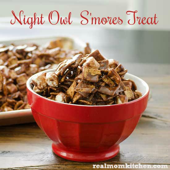Night Owl Smores Treat   realmomkitchen.com