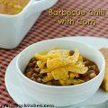 Barbecue Chili with Corn | realmomkitchen.com