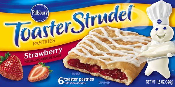 Strawberry Toaster Strudel Real Mom Kitchen
