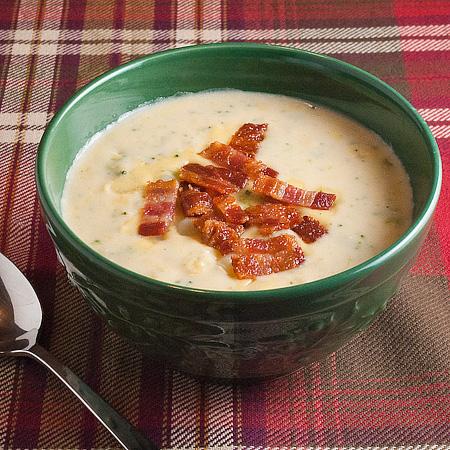 Super Loaded Baked Potato Soup