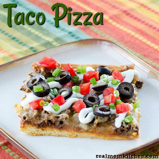 Taco Pizza | realmomkitchen.com