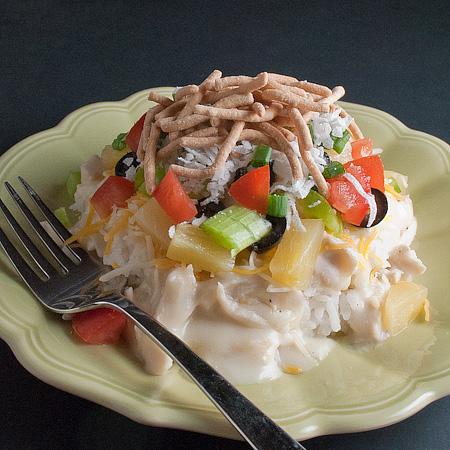 No Cream of Soup Hawaiian Haystacks