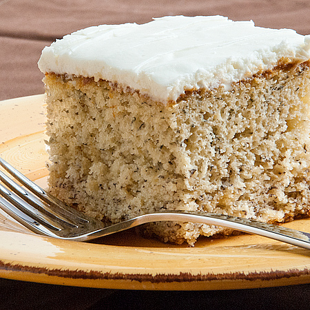 Moist Banana Cake With Sour Cream