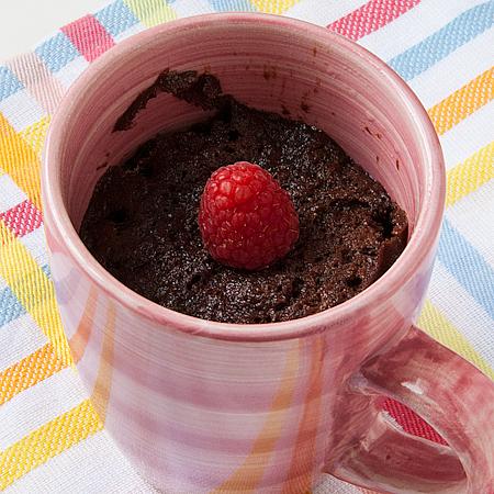 Chocolate Nutella Cake in a Mug and My Blogoversary