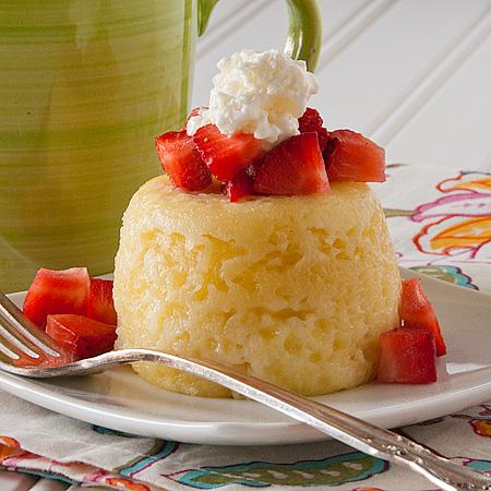 Sponge Cake in a Mug