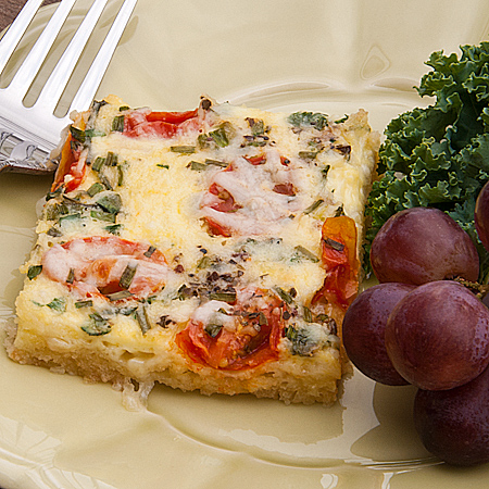 Virtual Baby Shower and Quiche for a Crowd – 2 versions