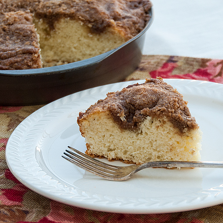 Flashback Friday – Streusel Coffee Cake
