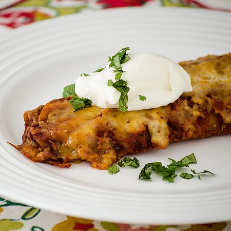 Too Easy Enchiladas