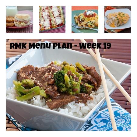 Menu Plan Monday – Week 19