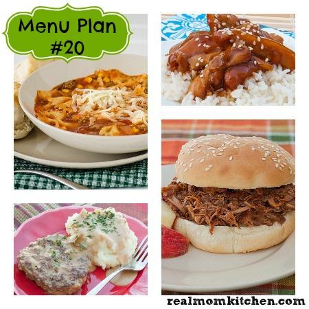 Menu Plan Monday – Week 20