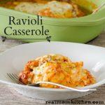 Ravioli Casserole | realmomkitchen.com