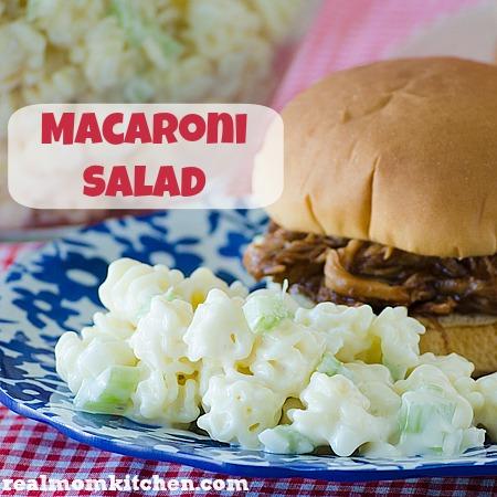 Macaroni Salad | realmomkitchen.com
