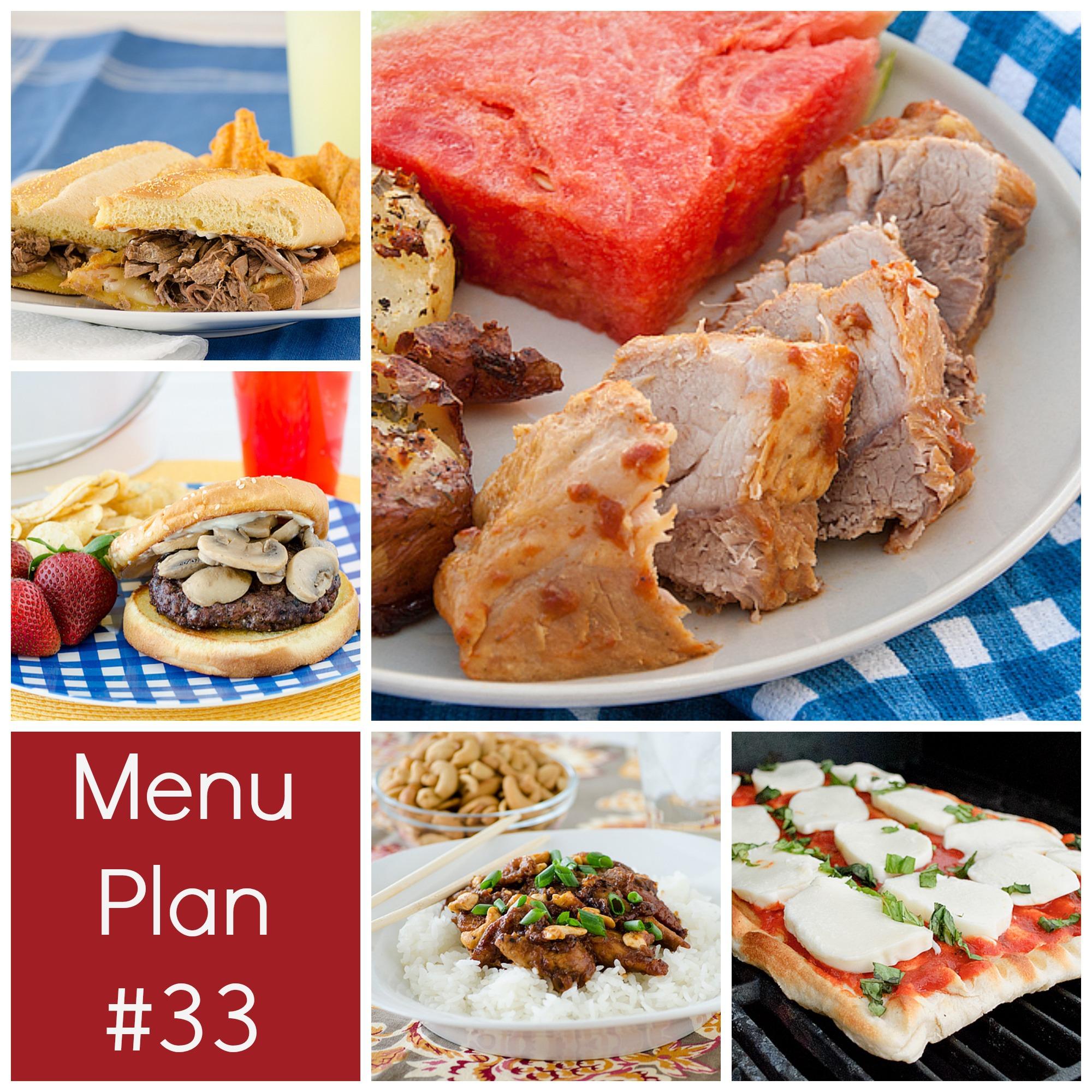 Menu Plan Monday – Week 33
