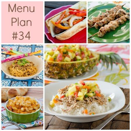 Menu Plan Monday – Week 34